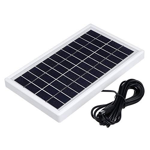Panel Solar Panel Solar De 12V Polisilicio 5W Panel De Energía Solar Ahorro De Energía con / 3m Cable DAC Panel Solar Sun Power Resistente A La Intemperie