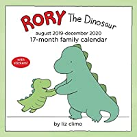 Rory the Dinosaur 17-Month 2019-2020 Family Wall Calendar