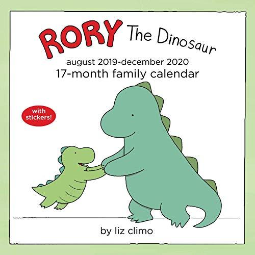 Climo, L: Rory the Dinosaur 2019-2020 Square Family Calendar