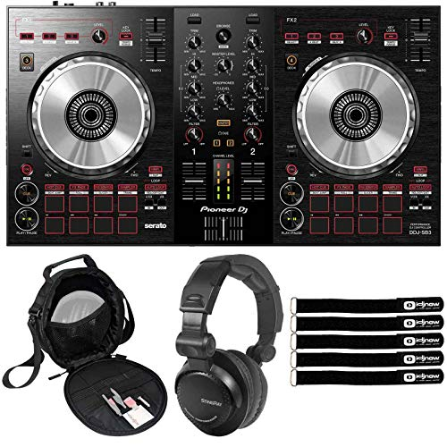 For Sale! Pioneer DDJ-SB3 Serato DJ Controller w 2-Channel Mixer & Software w Headphones