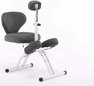 Chaise de jeu MHIBAX Chaise à genoux relevable, Chaise d'ordinateur ergonomique, Posture d'assise correcte et Chaise d'app...