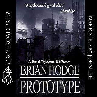 Prototype audiobook cover art