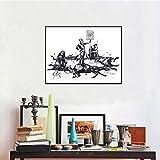Geiqianjiumai Iron Banks Dead Horse Pfeil Wandmalerei Wohnzimmer Wandkunst Dekoration Poster und...