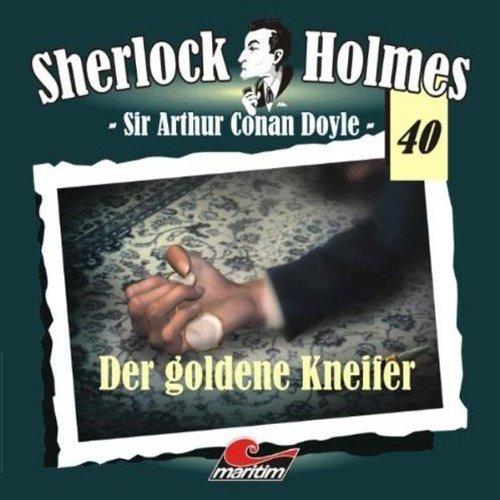 Der goldene Kneifer (Sherlock Holmes 40) Titelbild