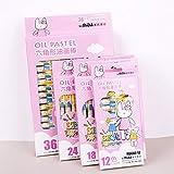 Hongmayi Pintura Al Óleo Para Niños Stick 12 Colores Hexagonal Crayon 18 24 36 Color Set Estudiante Pintura Suministros Venta Al Por Mayor 24 Color Rosa