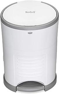 Korbell T-KOR-M220DS vuilniszak luieremmer mini 9 L, wit