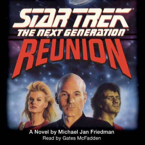 Star Trek, The Next Generation: Reunion (Adapted) audiobook cover art