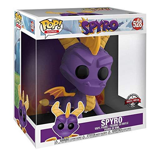 Spyro - The Dragon Figura Vinilo Spyro (Life Size) 528 Unisex ¡Funko Pop! Standard, Vinilo,