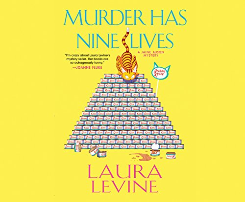 Murder Has Nine Lives audiobook cover art