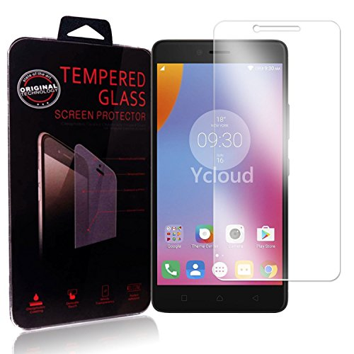 Ycloud Protector de Pantalla para Lenovo K6 Cristal Vidrio Templado Premium [9H...