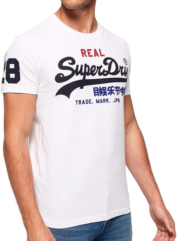 Ranking TOP11 At the price of surprise Superdry Men's Vintage Logo Tri White T-Shirt