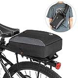 ZHTY Bolsa de Maletero de Bicicleta 2 en 1 Bolsa de Paquete de Eslinga de Cofre Informal Bolsa de Ciclismo Bicicleta portabultos de Bastidor Trasero