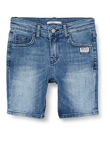 Mexx Jungen 952025 Shorts, Blau (Denim Light Wash 300024), (Herstellergröße: 104)