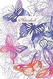 Adressbuch: Kontaktbuch zum Eintragen, fr alle Adressen, Telefonnnummern, Mailadressen mit Geburtstagskalender | Schmetterling Design