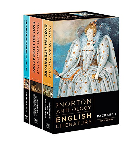 The Norton Anthology of English Literature (Tenth Edition)  (Vol. Package 1: Volumes A, B, C)