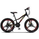 FUFU 20 Pollici Bici per Bambini con Ruote di Allenamento, 9-14 Anni Boy Mountain Bike, con parafango e Supporto