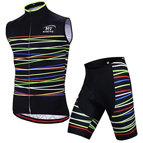 X-Labor – Maillot de ciclismo para hombre sin mangas, transpirable, tallas grandes,...