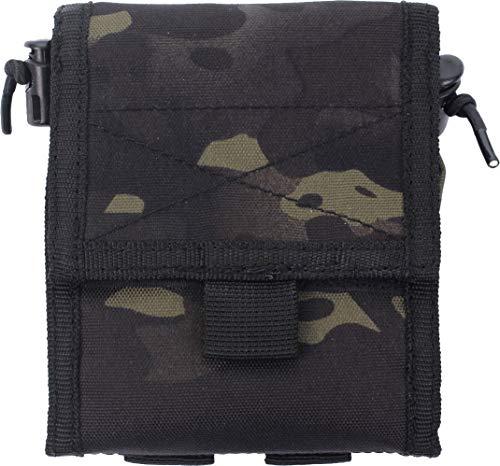 Mil-Tec Pochette à coque vide, Noir/camouflage