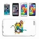 Reifen-Markt Hard Cover - Funda para teléfono móvil Compatible con Apple iPhone 5C Surf Surf Playa Tablas Longboard Olas de Surf Beginner Shop