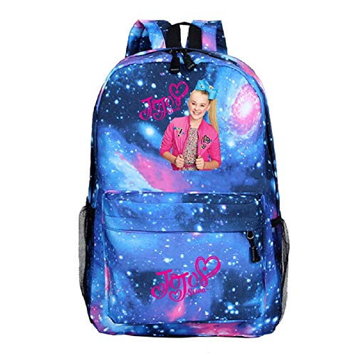 JOJO Siwa Girls Backpack JoJo School Bags Kids' Backpacks (Style D)