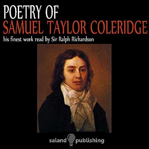 Poetry of Coleridge audiobook cover art