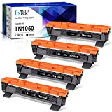 LxTek Compatible Reemplazo para Brother TN1050 TN 1050 Cartuchos de tóner para Brother HL-1210W HL-1212W HL-1110 HL-1112 DCP-1510 DCP-1512 DCP-1610W DCP-1612W MFC-1810 MFC-1910W Impresora (4 Negro)
