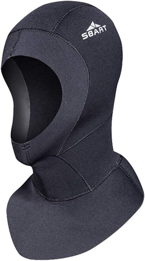 DiNeop New York Mall Dedication Neoprene Scuba Diving Hood for Wetsuit 3MM Cap Men