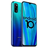 Unlocked Smartphones Ulefone Note 9P, 16MP + 5MP + 2MP, Dual Sim Phones Unlocked, Andorid 10 4GB+64GB ROM, 6.52' FHD, Fingerprint Face Detection, 4500mAh high Capacity Battery, AT&T, T-Mobile - Blue