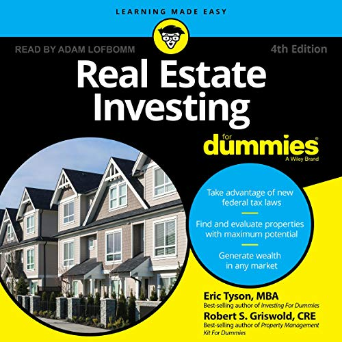 Real Estate Investing Books! - Real Estate Investing for Dummies, 4th Edition