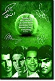 TENNIS LEGENDS Andy Murray, Rafael Nadal, Pete Sampras und