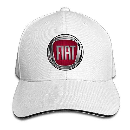 UUONLY FIAT Logo - Verstellbare Baseballkappe mit Schirmmütze