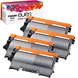 ejet Compatible Toner Cartridge Replacement for Brother TN450 TN420 TN-450 TN-420 for HL-2270DW HL-2280DW HL-2230 HL-2240 MFC-7360N MFC-7860DW DCP-7065DN Intellifax 2840 2940 Printer (4 Black)