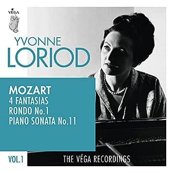 """Mozart: 4 Fantasias, Rondo No.1, Piano sonata No.11 """"Alla Turca"""""""