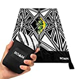 ROAM Foldable Pocket Blanket - Compact Beach Mat for Camping, Hiking, Picnic or Festival Use - Sand and Waterproof for Outdoor Travel - Durable Nylon Design, Metal Stakes Included
