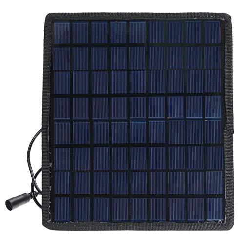 Suncolor8 Nuevo Cargador de batería de Potencia Solar portátil de 18 V 5.5W para automóviles para automóviles ATV Durable Durable