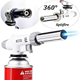 AOHEZI  Professional Butane Cooking Torch for Pastries Desserts Blazing Soldering Camping Jewelry(Butane not included)