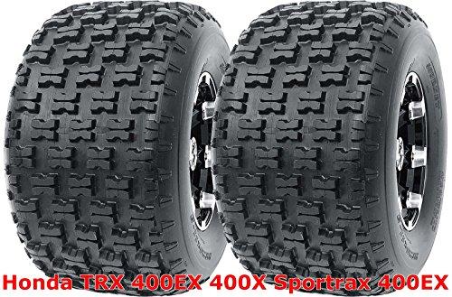 Set 2 Sport ATV Tires 20x10-9 20x10x9 fit for Honda TRX 400EX 400X Sportrax 400EX Rear