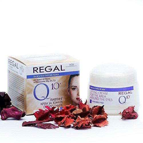 Regal Q10+ - Crema con Efecto Lifting para los Contornos de los Ojos