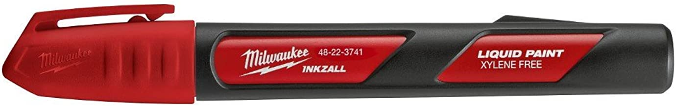 Milwaukee Electric Tools Paint Marker, Red (48-22-3741)