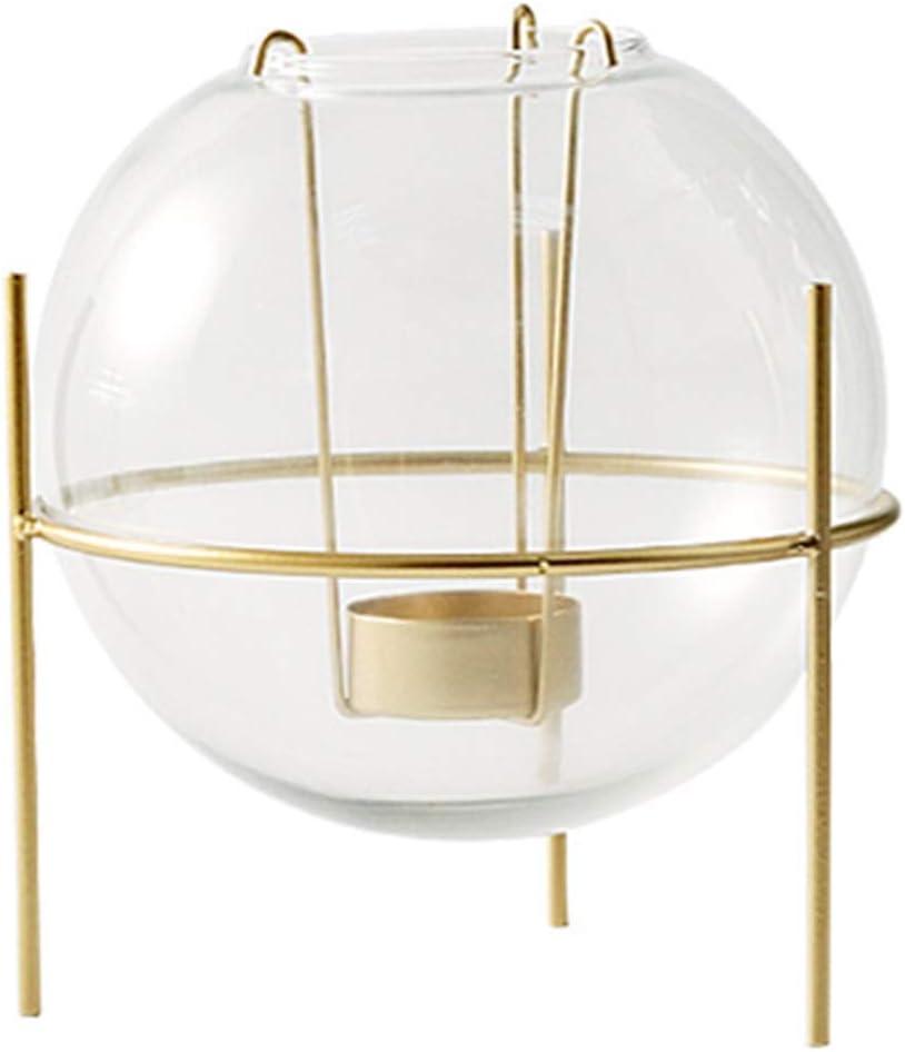service SHUTING2020 Candlestick Holders Transparent Li Glass Large discharge sale