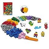 Limei International Building Bricks 15 Color 1003PCS with 3 Baseplates + 1 Brick Separator Classic Blocks Set for Kids Fit All Major Brands