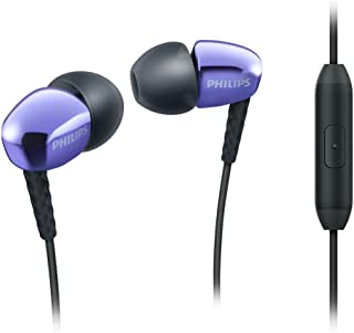 "Philips SHE3905PP - Mobile Headsets (Binaural, Black, Purple, in-Ear, Wired, 20 Mw, 3.5 mm (1/8""))"