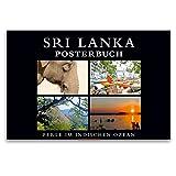 CALVENDO Premium Textil-Leinwand 120 cm x 80 cm Transversal, un Motivo del Calendario Sri Lanka Posterbuch, Perle en el Océano Índico, Imagen sobre Lienzo, Leinwanddruck Lugares Lugares