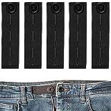 Your Day Mate Extensor de Cintura para Pantalones, Botón de Extensión de Pantalones, Botones retráctiles de Jeans y Pantalones, Adaptator de Cintura Ajustable, Pantalones para premamá