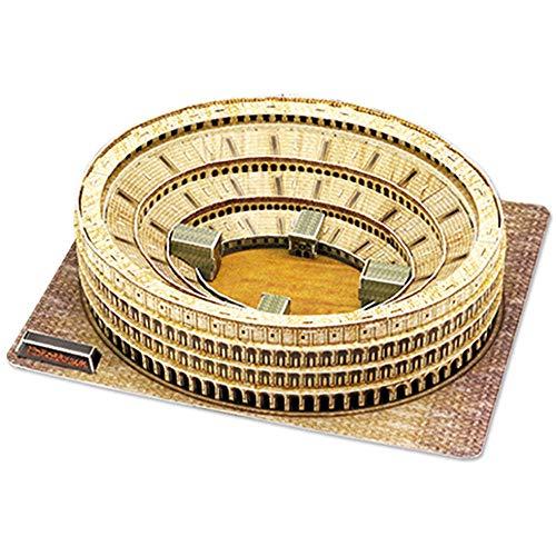Rompecabezas 3d, Modelo De Rompecabezas Del Coliseo Romano, Modelo Arquitectónico De Fama Mundial De Bricolaje, Kit De Modelo De Rompecabezas Para Niños, Regalo De Cumpleaños Para Niños Y Niñas