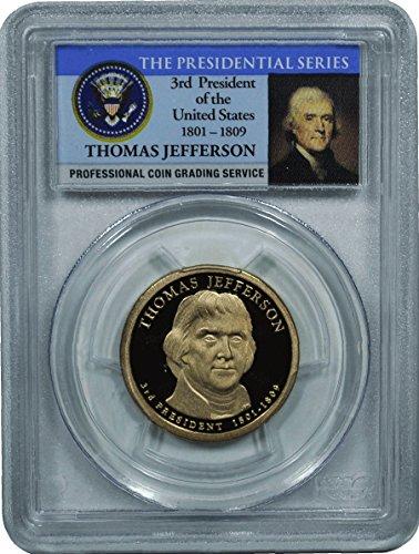 2007 Jefferson Presidential Dollar PR-70 PCGS DCAM