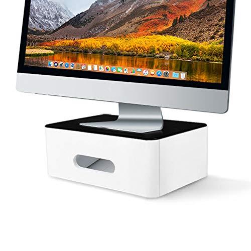 ESGT Soporte Multifunción para Monitor De Escritorio, Elevador De Pantalla De Computadora, Soporte Fuerte para Computadora Portátil, Soporte para Computadora Portátil, TV