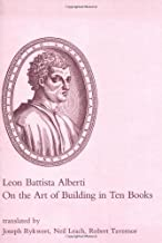 On the Art of Building in Ten Books (The MIT Press)
