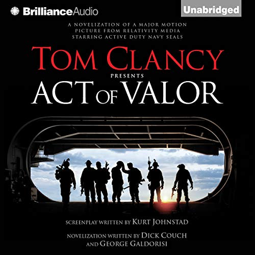 Tom Clancy Presents: Act of Valor audiobook cover art