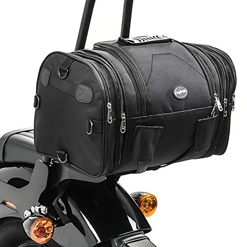 Hecktasche für Harley Davidson Dyna Super Glide/Custom, Fat Boy / 114 / Special/Lo, FXDR 114, Heritage Softail Classic / 114, Night Train, Night-Rod/Special RB1